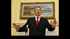 "Blair calls for action on ""scandal"" of Darfur"