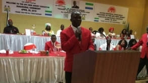 Inaugural Speech by Alimamy Turay, President, APC New Jersey