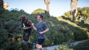 Mark Zuckerberg's running challenge