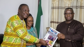 Sierra Leone Teachers Union meets President Bio