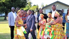 Vancouver: Ghanaian Vice President Bawumia receives rousing welcome