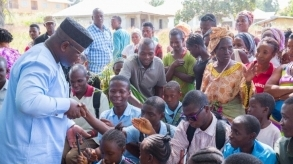 Sierra Leone: President Bio visits School for the Blind, Kabala