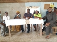 Pujehun: District Council chairman donates 100 bags of cement