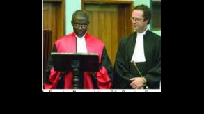 Special Court: Justice Jon Kamanda sworn in as Appeals Judge