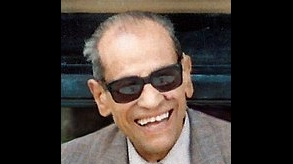 Egyptian writer Naguib Mafouz