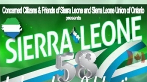 Toronto: Sierra Leone Independence celebrations