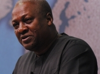 President John Mahama of Ghana in France