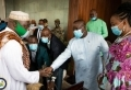 President Julius Maada Bio donates sheep to 300 mosques and households in Western Area