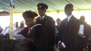 Vice President Victor Foh's speech at Cuttington University convocation