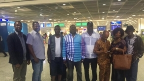 APC Diaspora Tour delegation in Germany