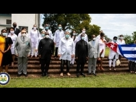 Sierra Leone: Cuban doctors meet with President Bio