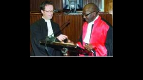 Justice El Hadji Malick Sow of Senegal Sworn in as Alternate Judge