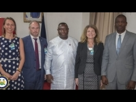 EU Principal Adviser meets with President Julius Maada Bio