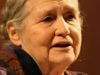 British-Zimbabwean writer Doris Lessing