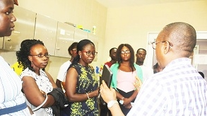 Uganda delegation understudies best practices in Ghana