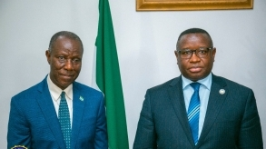 Sierra Leone Ambassadors take leave of President Bio