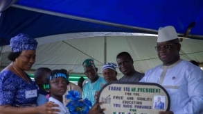 Sierra Leone: President Bio in Makeni, capital of the north