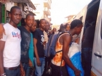 Freetown: Youths Volunteer to Alleviate Transport Crisis