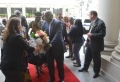 Warm welcome for President Koroma in Washington