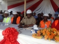 Photo News: APC lays foundation stone for regional HQ