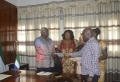 OGP, CSOs, present mid-term self-assessment report to President Koroma