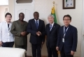 Sierra Leone Embassy, Seoul: Christian Mission leader pays working visit