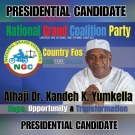 Kandeh Yumkella is NGC flagbearer