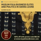 New book on the Fulas of Sierra Leone by Alusine Jalloh