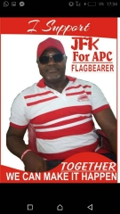 I support JFK for APC presidential aspirant