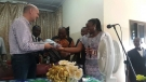 Makeni: British High Commissioner honoured
