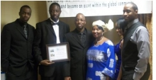 Lauretta Will Educational Foundation: Pictorial on awards banquet, book drive and sanitation project