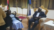 President Koroma arrives in Ethiopia for Heads of State summit