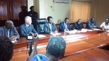 Freetown: Signing ceremony of Bo-Bandajuma-MRU Bridge Road