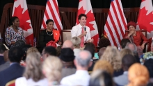Prime Minister Justin Trudeau's first official visit to Liberia