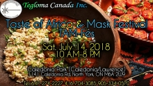 Toronto, Canada:Taste of Africa and Mask Festival