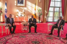 Netanyahu meets with East African leaders
