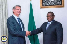 French Ambassador calls on President Bio