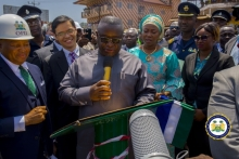 President Bio commissions new Sengbeh Pieh Bridge