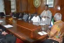 President Koroma meets with European Union delegation