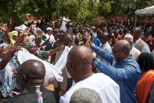 Ghana's President condemns violence in politics