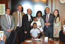 Ghanaians in BC visit Provincial Legislature