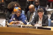 Zainab Bangura presents annual report on sexual violence in conflict