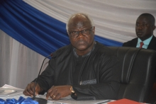 President Koroma arrives in New York