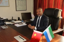 Freetown: Ambassador Alimamy Koroma's illness exaggerated