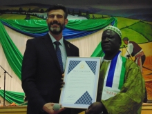 Edmonton Mayor proclaims April 27 Sierra Leone Independence Day