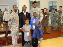 Sierra Leone Envoy joins US troops in Belgium to celebrate Black History Month