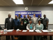 Toronto: African Canadian Social Development Council Board of Directors, Executive Officers elected