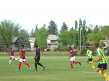 Calgary and Edmonton clash in All-African soccer match