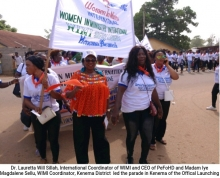 Women In Ministry International launched in Kenema