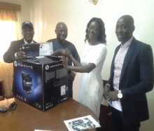 Freetown: PSRU donates to RAIC